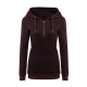 New Fashion Hoodie Thicken Long Sleeve Red Color Women Sweater WH-11RD