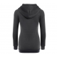 New Fashion Hoodie Thicken Long Sleeve Navy Gray Color Women Sweater WH-11GR