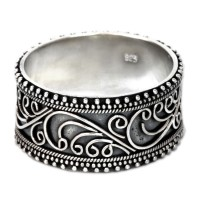 Classic Passion Unique Sterling Silver Band Ring ANDR-14
