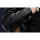 Latest Design Gents Fashion Slim and Fit Long-Sleeve Red Leather Casual Jacket MJ-06RD image