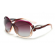 Classic Crystal Polarized Lens with Fashion Shades Women Sunglasses G-05RR (Rose Red)