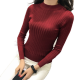 New Cashmere Round Neck Short Paragraph Red Slim Sweater WH-17RD