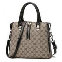 Women Latest Design Shoulder Diagonal Black Brown Color Handbag WB-27BK