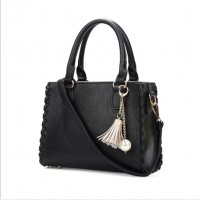 Women Fashion Shoulder Diagonal Black Color Handbag WB-31BK