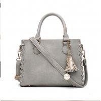 Women Fashion Shoulder Diagonal Grey Color Handbag WB-31GR