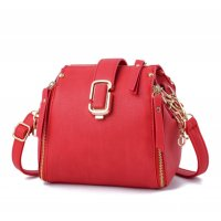 Latest Fashion Personality Big Capacity Red Messenger Handbag WB-34RD