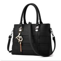 Women Fashion Shoulder Diagonal Black Color Handbag WB-37BK
