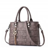 Women Fashion Shoulder Diagonal Grey Color Handbag WB-37GR