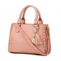 Women Fashion Shoulder Diagonal Pink Color Handbag WB-31PK