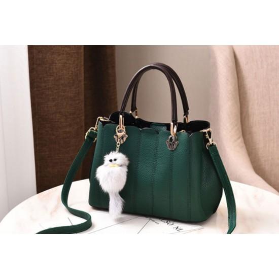 Women Exclusive Design Messenger Green Handbag WB-33GN image
