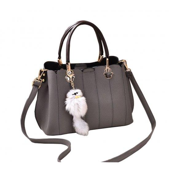 Women Exclusive Design Messenger Grey Handbag WB-33GR image