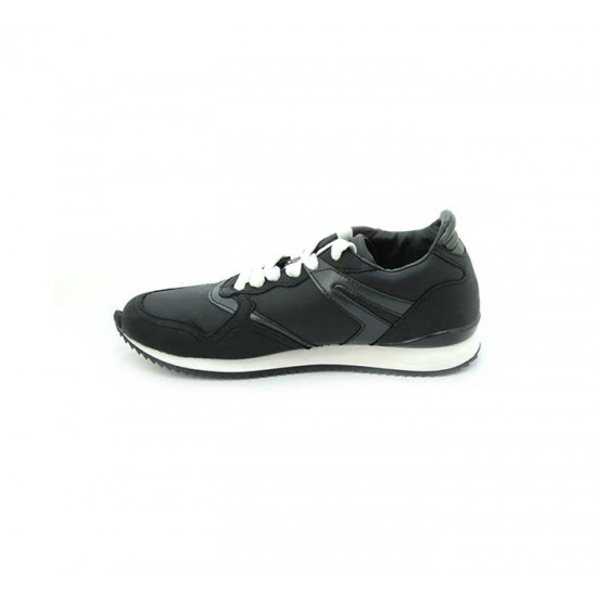 Bata North Star Black Color Sneaker Shoes For Women B-193BK