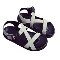 Slope With Thick Muffin Summer Fashion Buckle Sandals S-103GY