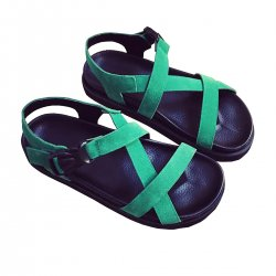 Slope With Thick Muffin Summer Fashion Buckle Sandals S-103G