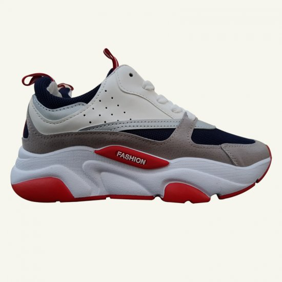 New Fashion Women Grey Running Sports Shoes S-128GR image