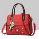 Floral Engraved Design Cross Border Shoulder Handbags WB-46RD