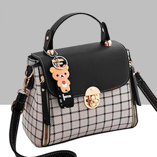 New Fashion Small Square Cross Border Ladies Shoulder Bag WB-43BK image