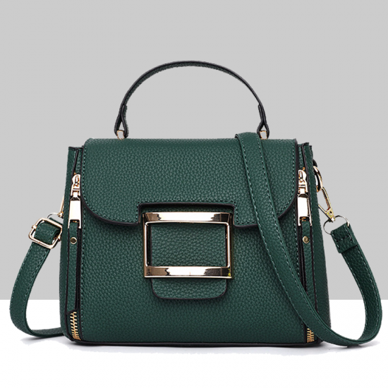 Lychee Pattern Green Cross-Border Handbag WB-42GN image