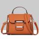 Lychee Pattern Brown Cross-Border Handbag WB-42BR