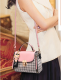 New Fashion Small Square Cross Border Ladies Shoulder Bag WB-43PK image
