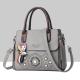 Floral Engraved Design Cross Border Shoulder Handbags WB-46GR
