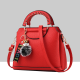 Women Beautiful Plaided Cross Section Shoulder Bag WB-47RD image