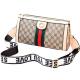 Designer Texture Cream Contrast Messenger Bags WB-49CR image