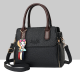 Women's Fashionable Shoulder Diagonal Black Color Handbag WB-50BK