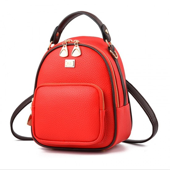 Mini Casual Backpack Nylon Shoulder Bags for Women WB-52RD image