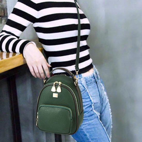 Mini Casual Backpack Nylon Shoulder Bags for Women WB-52GN image