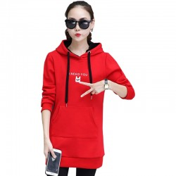 Women's Casual Style Winter Pullover Hoodie WH-30RD