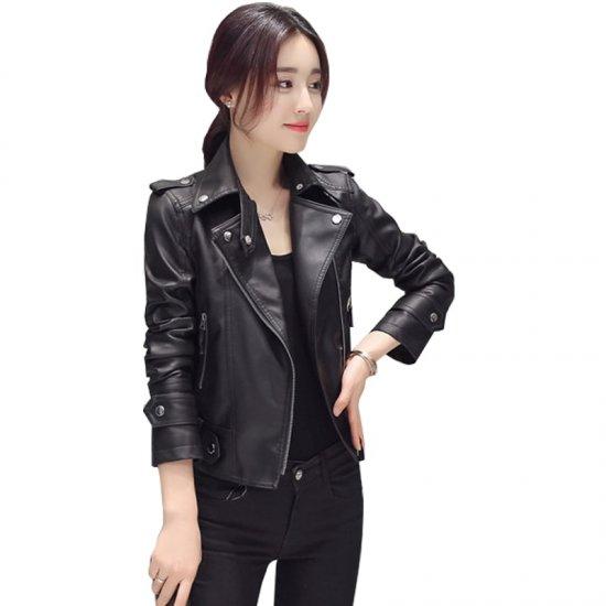 Latest Autumn Korean Version Women Jacket WJ-42BK image