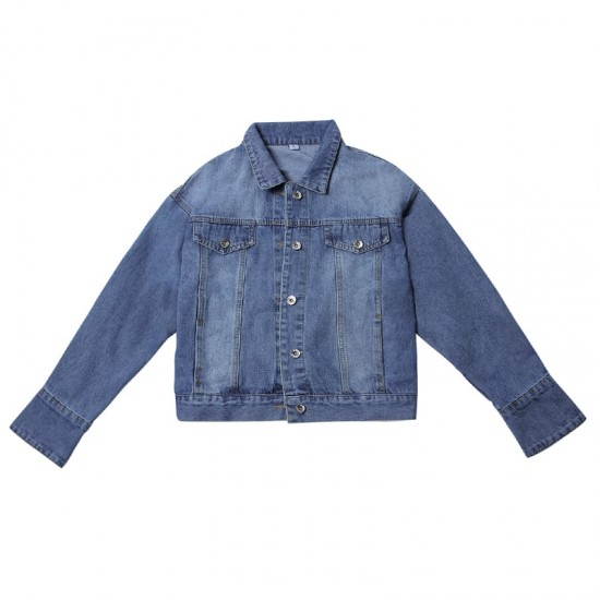 Denim Jacket Female Spring And Autumn WJ-34BL |image