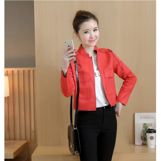 2018 Autumn New Korean Version Women Jacket WJ-37RD image