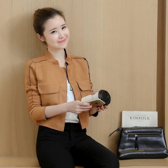 2018 Autumn New Korean Version Women Jacket WJ-37BR image