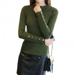 Women's Head Long-Sleeved Tight-fitting Slim Sweater WH-28GN