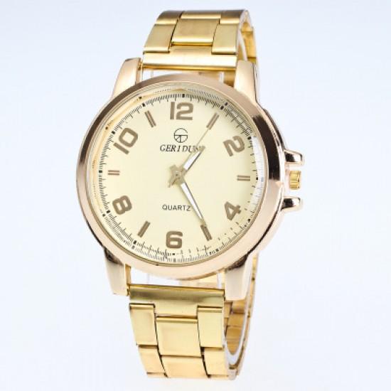 Gold Top Brand Luxury Fashion Bracelet Watch W-46G |image
