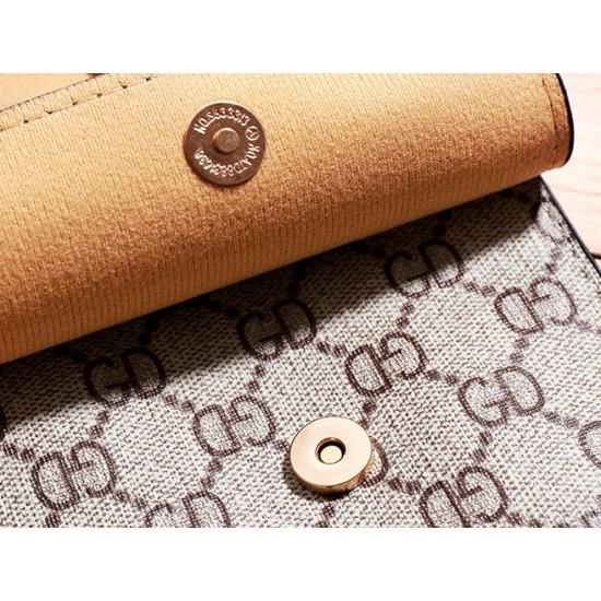 Designer Pattern Orange Flap Mini Shoulder Bag WB-100OR |image