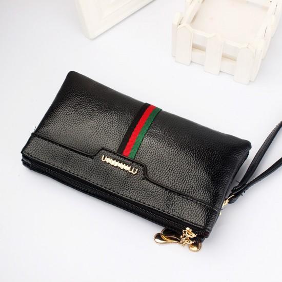 European Trending Women Clutches Design Wallet WB-125BK  image