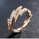 Sterling Gold Lightning New Fashion Rings R-52G |image