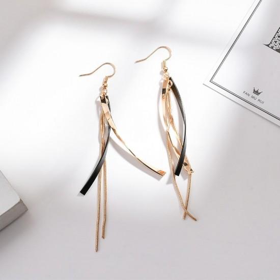 Luxury Design long Paragraph Earrings E-50 |image