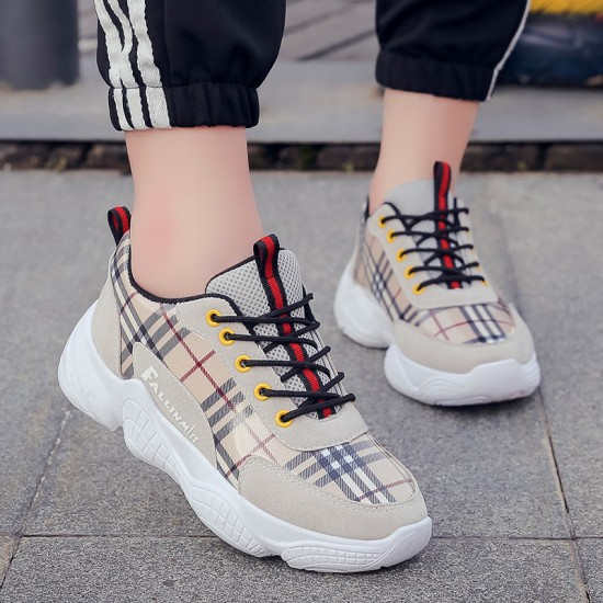 Casual Laces Up Grey Sport Shoes S-161GR |image
