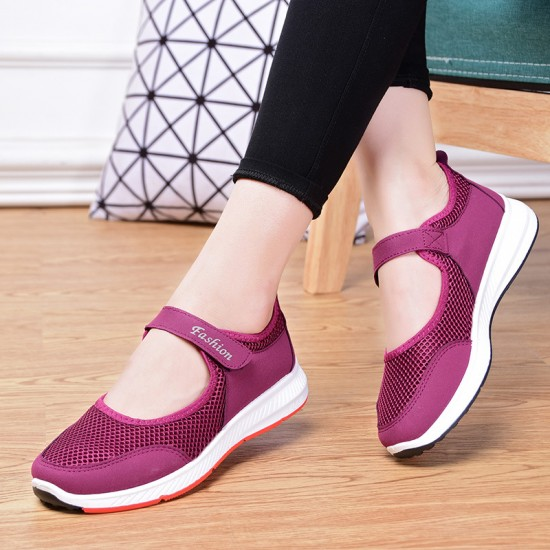 Breathable Casual Pink Sport Shoes S-174PK |image