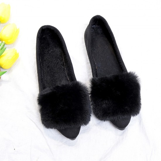 Bow Crystal Party Wear Black Flat Shoes S-155BK |image