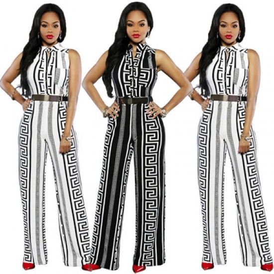Cacuso African Long Trouser Jumpsuit WC-311WT  image