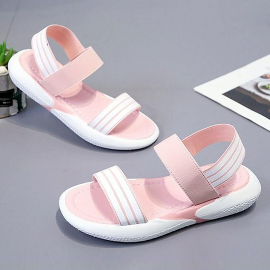 Casual Round Head Soft Bottom Sandals For Women S-198PK |image