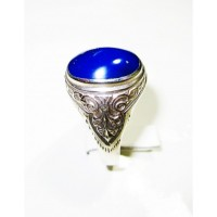 Blue Turquoise Sterling Silver 925 New Look ANDR-84