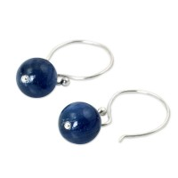 Handmade Kyanite and Sterling Silver Earrings ANDE-69