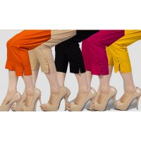 Pack of 5 Cotton Cigarette Pants KABS-01