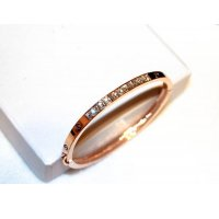 The Big European and American style fashion Korea 18k Gold Plated Diamonds Crystals Bracelet Bangle CHD 01
